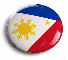 philippines flag design badge stock photo picture and