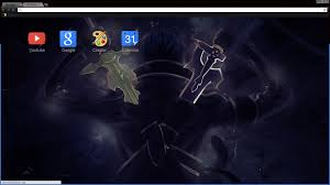 theme google chrome sword art online sword art online theme for chrome videogames pinterest