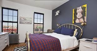 bedroom design awesome blue feature wall accent wall paint ideas