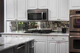 kitchen backsplash mirror kitchen antique mirror backsplash installed diy mirrored kitchen