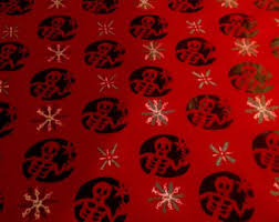 skull wrapping paper heavy metal wrapping paper sted gift wrap skull