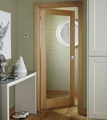 kitchen interior doors kitchen to door linear oak glazed doors