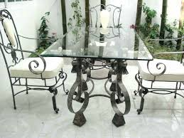 cast iron glass table white cast iron patio furniture table set beautiful chairs garden