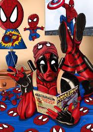 Deadpool Funny Memes - drawn spider man funny pencil and in color drawn spider man funny