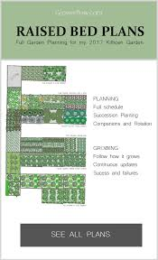 full vegetable garden plan sowing schedule succession planting
