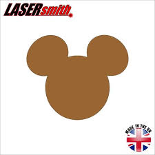 mickey mouse head outline u2013 lasersmith