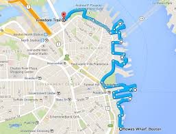 Boston Harborwalk Map by Map Of Boston Waterfront Area Pictures To Pin On Pinterest Pinsdaddy