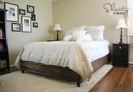 easy to build diy platform bed designs
