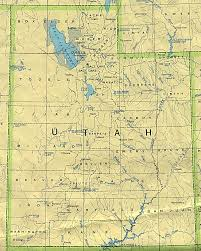 Escalante Utah Map by