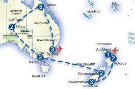 auckland australia map all australia and new zealand