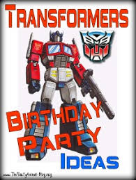 transformer birthday transformers birthday party ideas thepartyanimal