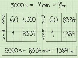 3 ways to convert seconds into hours wikihow