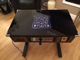 base table top cocktail arcade machine pacman new retro 80s games