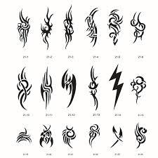 27 popular designs airbrush body art tattoo stencil template book