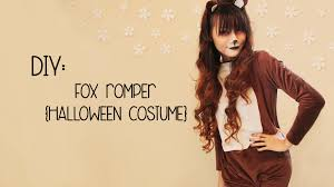 girls black cat halloween costume diy the fox halloween costume youtube