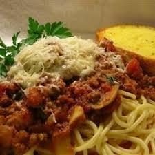 wedding gift spaghetti sauce spaghetti dinner recipes allrecipes