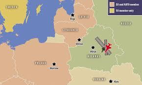 russia map belarus vladimir putin to start russian airbase in belarus that will