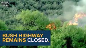 Wildfire Kingman Az by Latest Cactus Fire Youtube