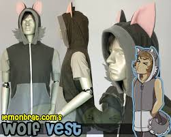 wolf hoodie by lemonbrat on deviantart