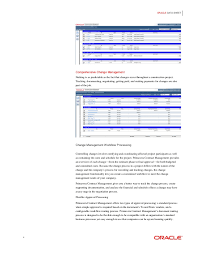Contract Management Spreadsheet by Oracle Primavera Contract Management
