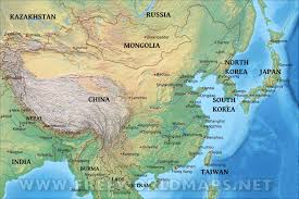 Maps Of Asia by Physical Map Of Asia New Of Roundtripticket Me