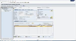 how to post invoice in sap youtube