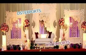 wedding backdrop panels modern wedding stage decor fiber backdrop panels dst exports