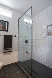 subway tile designs for bathrooms bathroom design subway tile with dark grout bathroom grey and