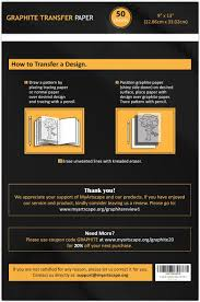 write on paper transfer to computer amazon com graphite transfer tracing carbon paper 50 sheets 9 amazon com graphite transfer tracing carbon paper 50 sheets 9