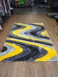 yellow shag rug ombre shag yellow 8 ft x 10 ft area rug yellow