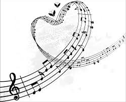 8 images of heart music notes coloring pages music notes