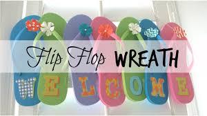 flip flop wreath summer flip flop wreath i like diy projects