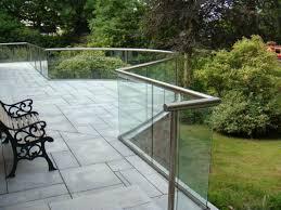 Balcony Banister Glass Balustrades