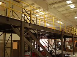 Mezzanine Stairs Design Warehouse Storage Mezzanine Stairs San Diego California