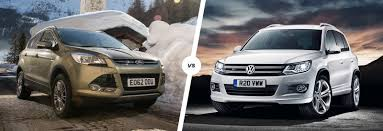 volkswagen touareg 2013 ford kuga vs vw tiguan crossovers compared carwow