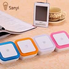 aliexpress com buy sanyi mini eu us plug night light bed lamp