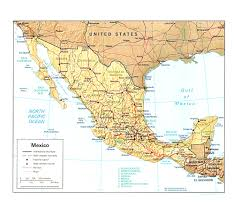 Coahuila Mexico Map by Map Of Baja California Mexico For Alluring Map Southern Mexico