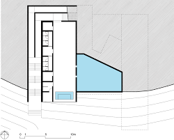 Box House Plans Cantilevered Concrete Box Houses Poolside Bar At Weekend Retreat