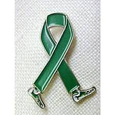 cerebral palsy ribbon organ donor awareness month is april green walking legs ribbon lapel