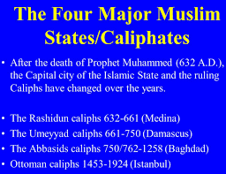 the most fascinating bible prophecy reveals the muslim caliphate