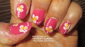 simple nail art tutorial step by step youtube