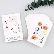 aliexpress buy easy lomo cards diy small gift card
