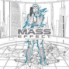 mass effect coloring book bioware penguinrandomhouse