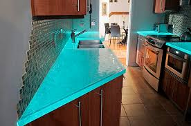 this is cool glass counter tops that glow i love it but i don u0027t