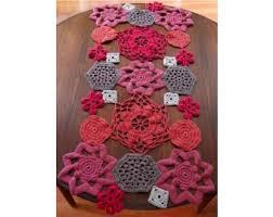 Crochet Table Runner Pattern Crochet Shapes Table Runner Crochet Lion Brand Yarn