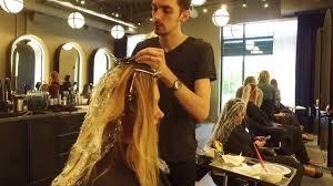 indianapolis u0027 top oribe hair salon g michael salon in action