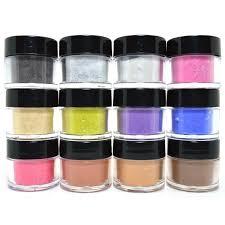 sale 12 pcs mia secret nail art acrylic powder fiesta