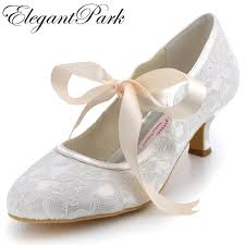 wedding shoes comfortable aliexpress buy a3039 ivory wedding shoes closed toe 2 spool