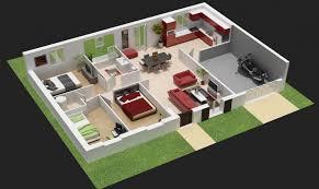 plan de maison 3 chambres salon plan maison 3 chambres chambre newsindo co