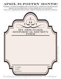 Children Halloween Poems New York Historical Society